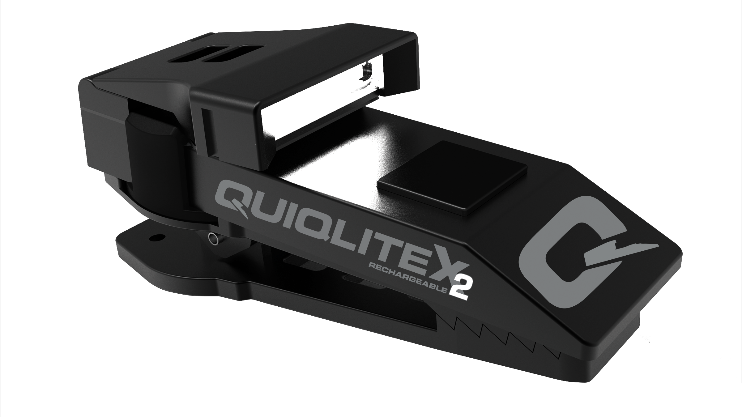New QuiqLiteX2 Tactical Aluminum, 20 up to 200 lumens USB Rechargeable 00005