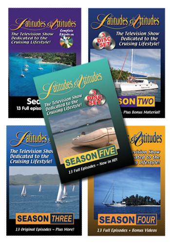 Latitudes & Attitudes TV All 5 Seasons on DVD!