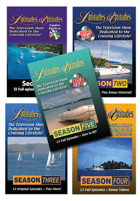 Latitudes & Attitudes TV All 5 Seasons on DVD!