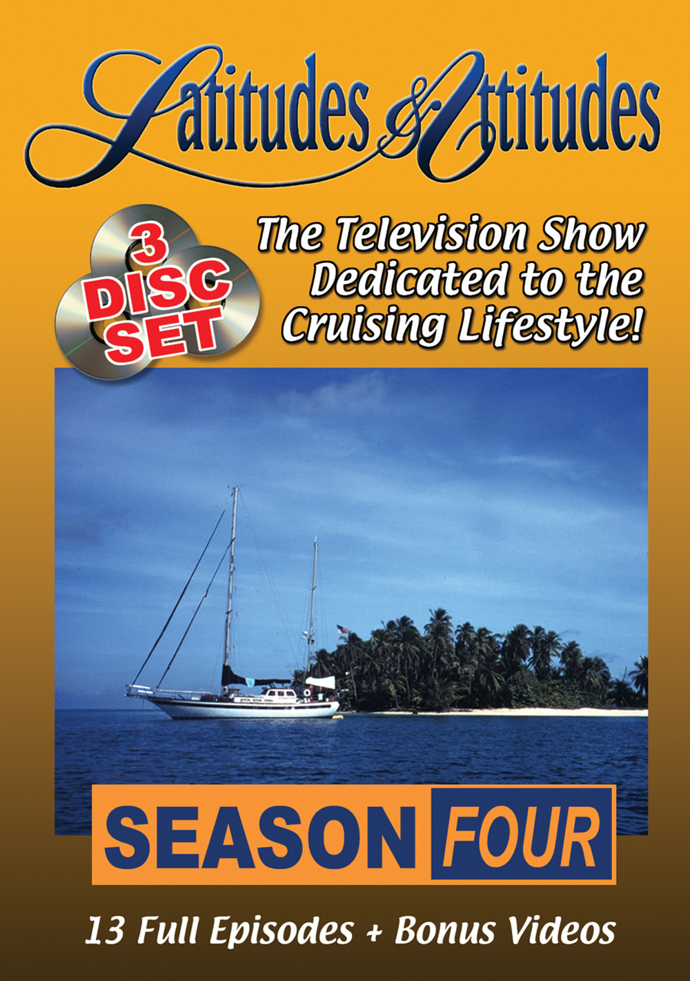 Latitudes & Attitudes TV Season #4 (3 - DVD Set)