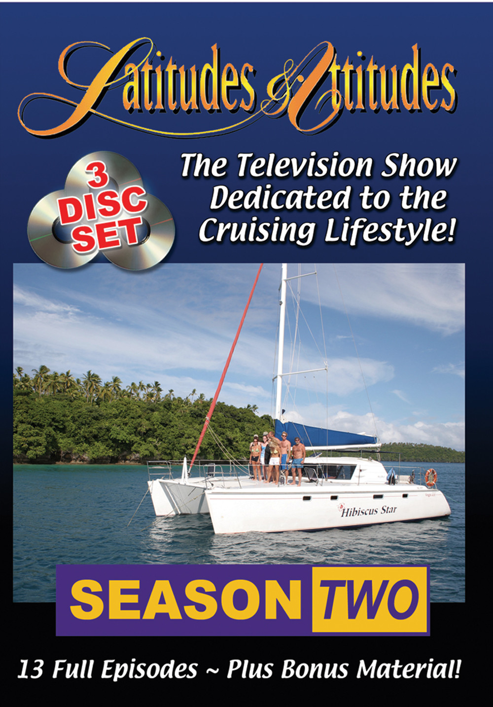 Latitudes & Attitudes TV Season #2 (3 - DVD Set)