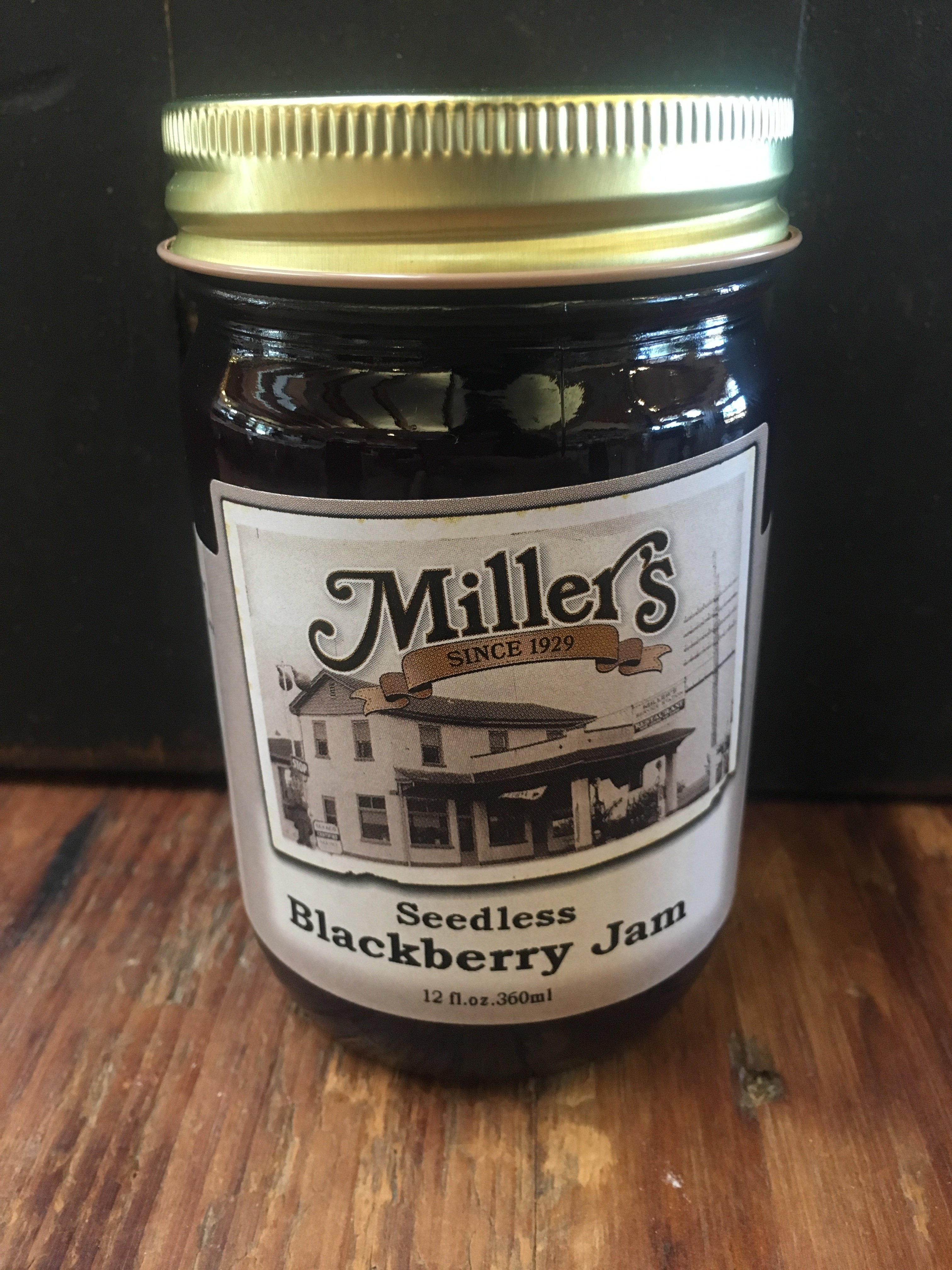 Seedless Blackberry Jam 12oz 673166025233