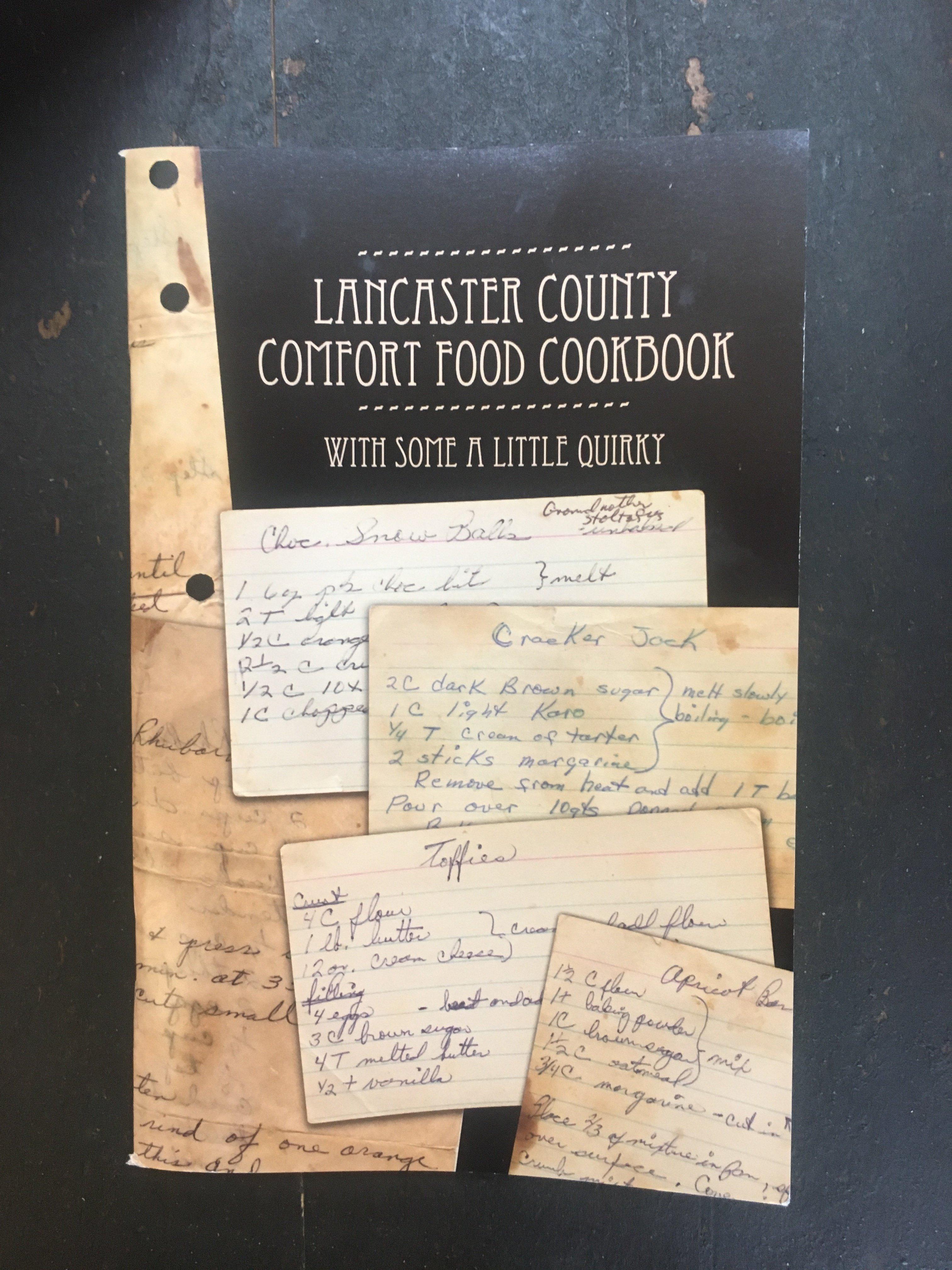 Lancaster County Comfort Food Cookbook 5315770