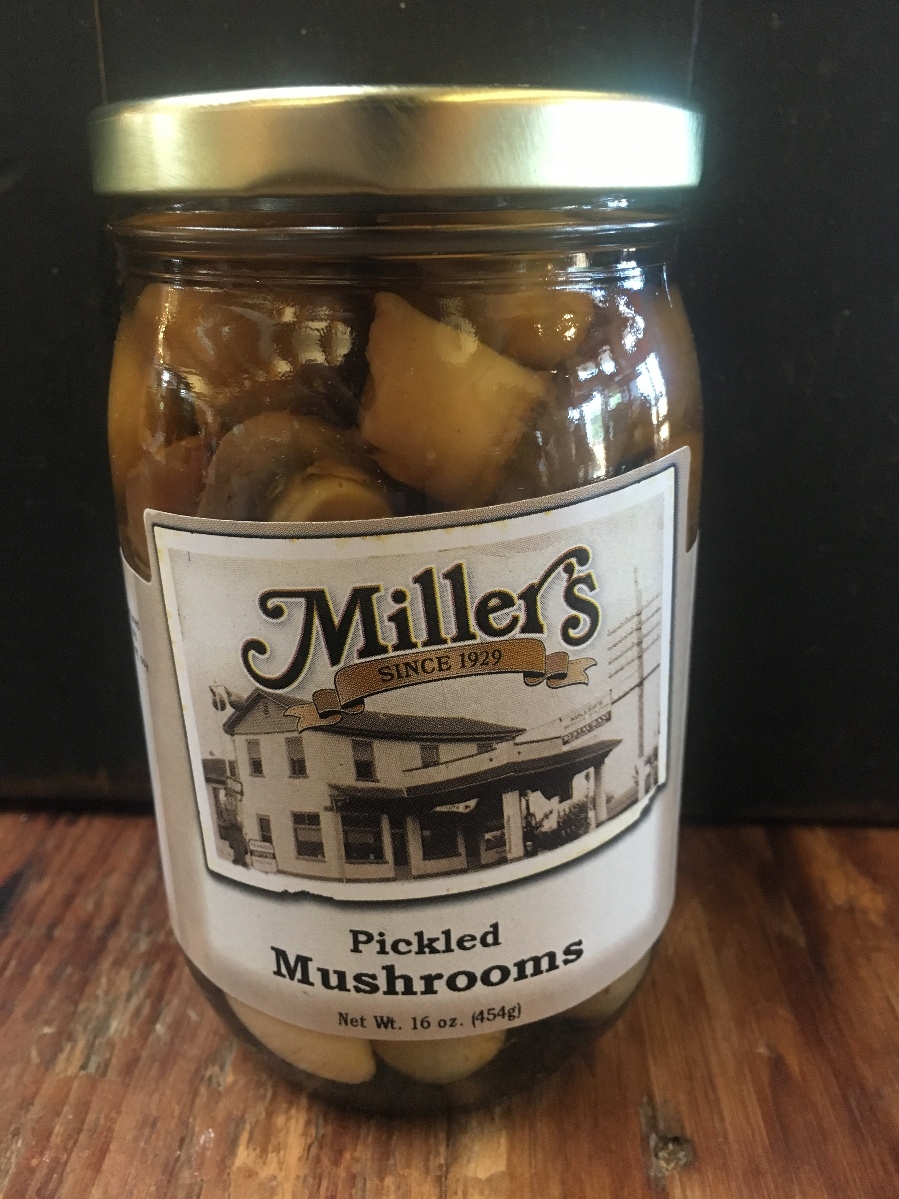 Pickled Mushrooms 16oz 00031