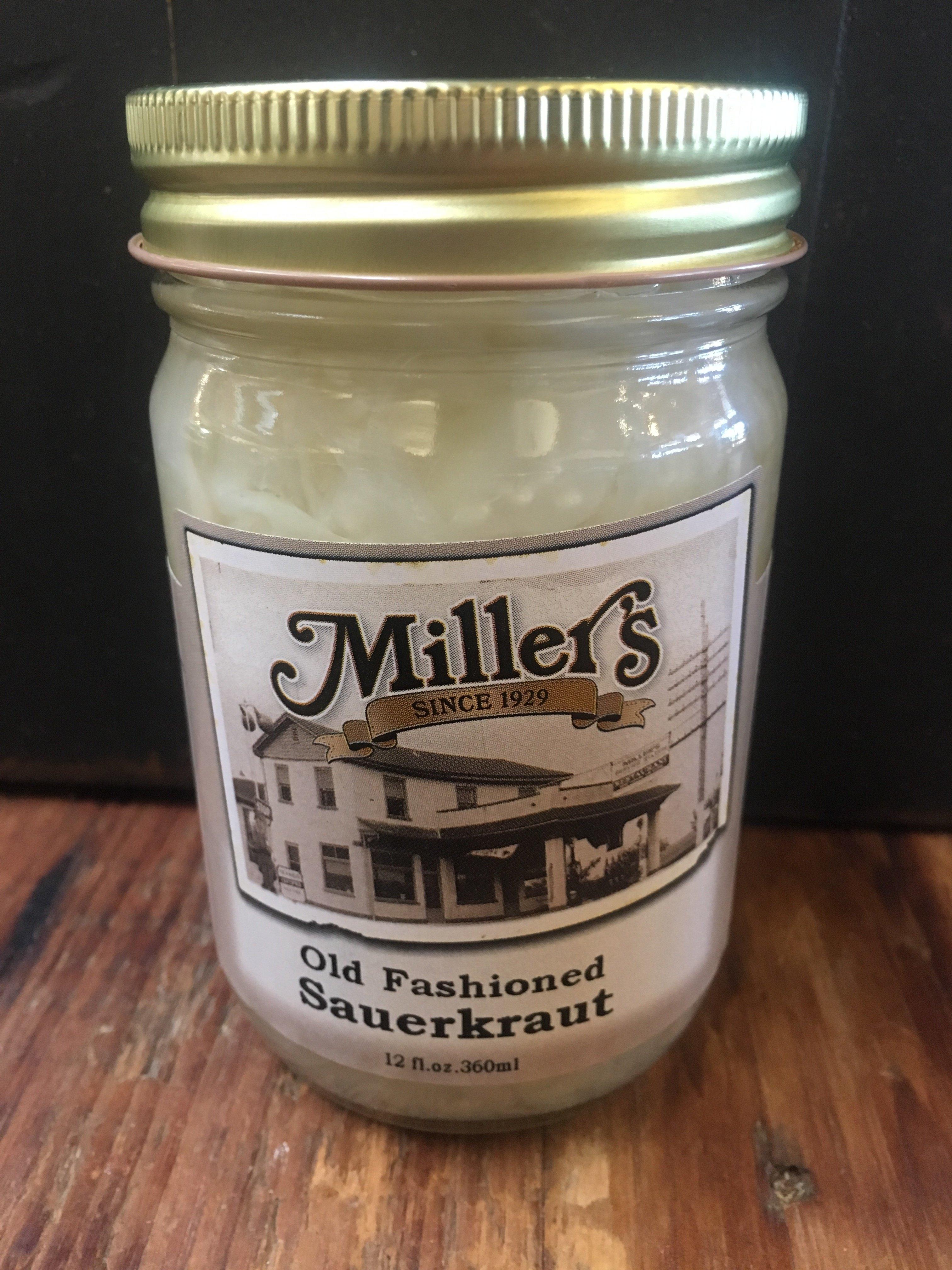 Old Fashioned Sauerkraut 12oz 00037