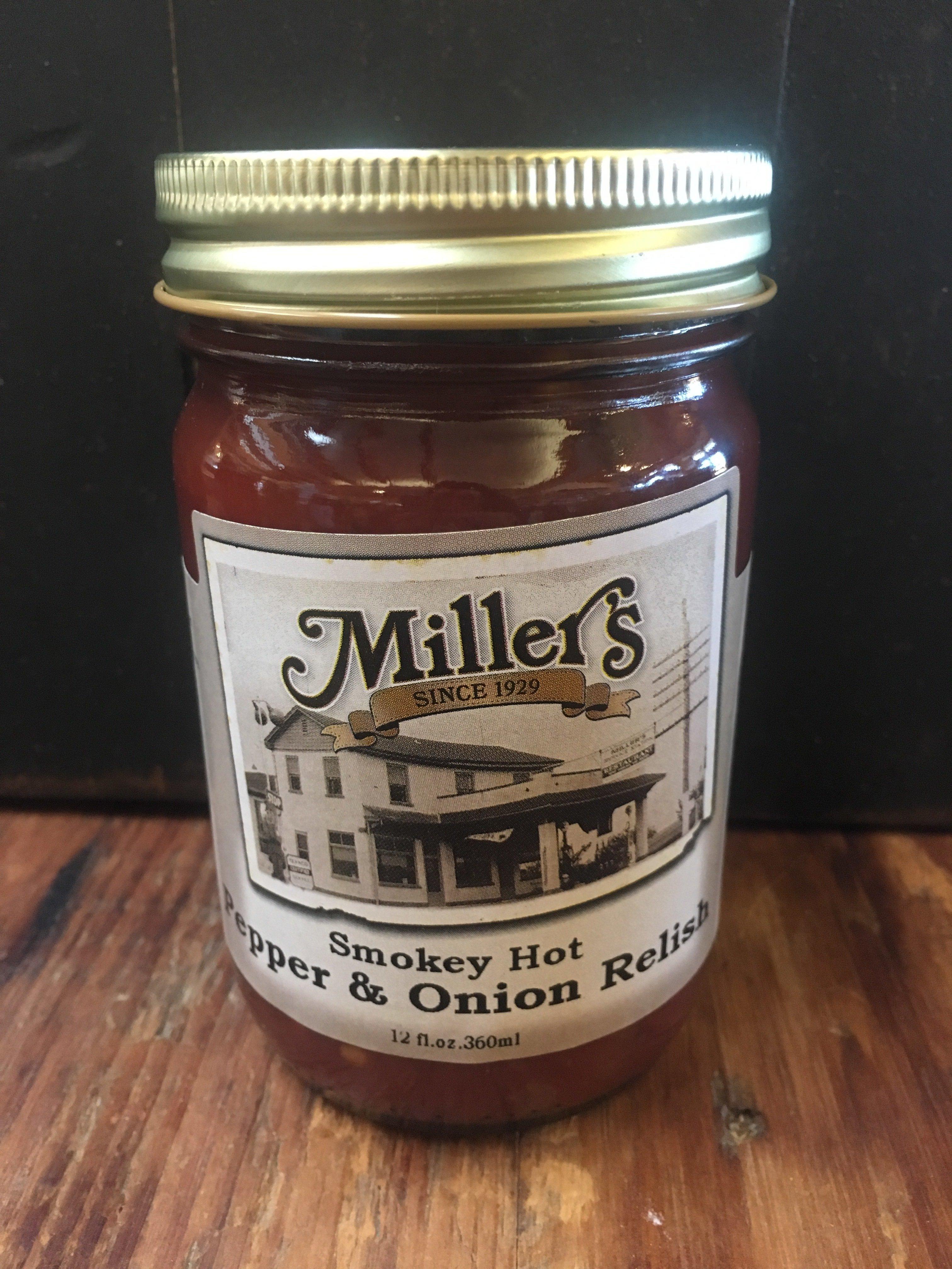 Smokey Hot Pepper & Onion Relish 12oz 00038