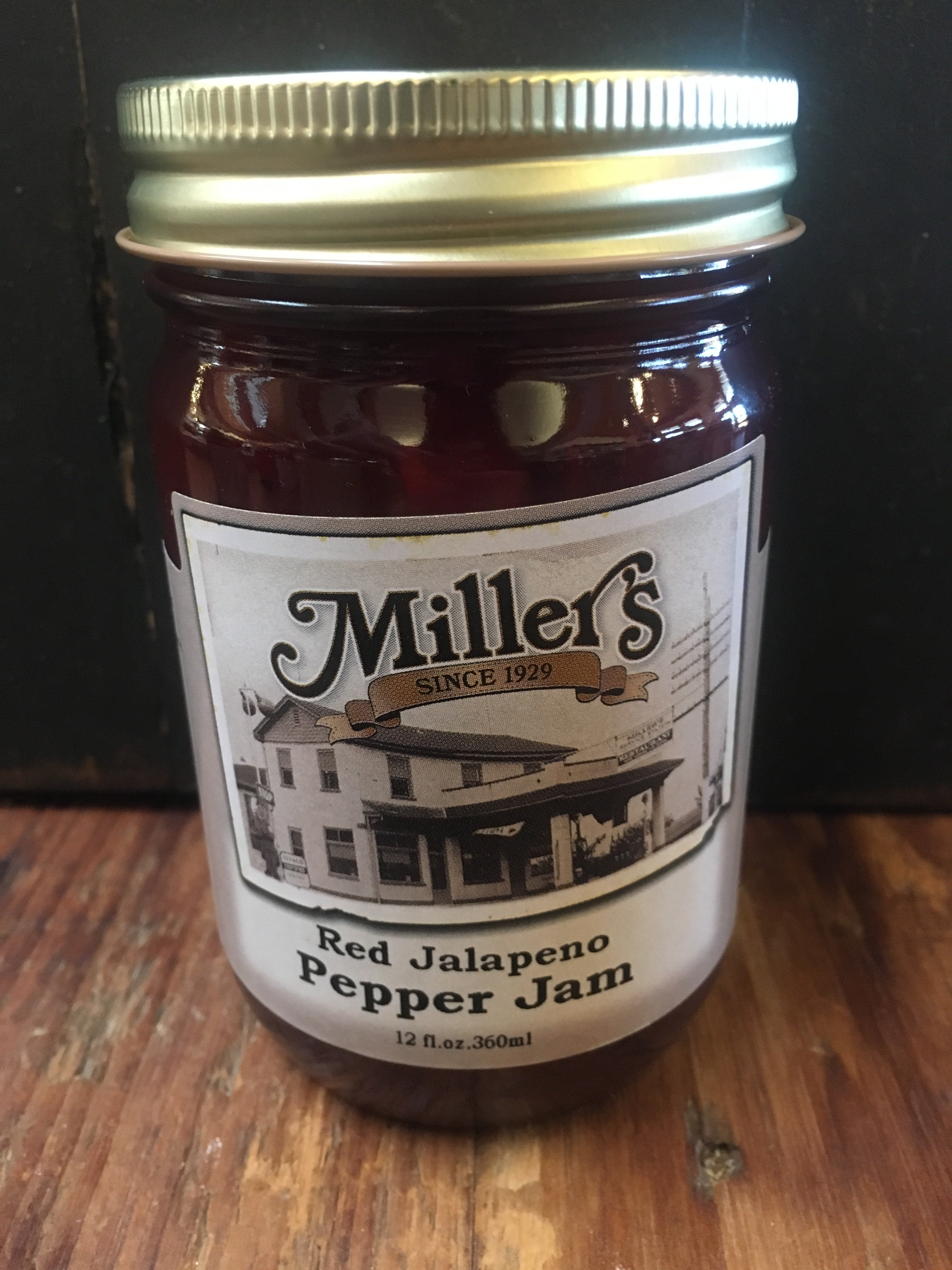 Red Jalapeno Jam 12oz 00057