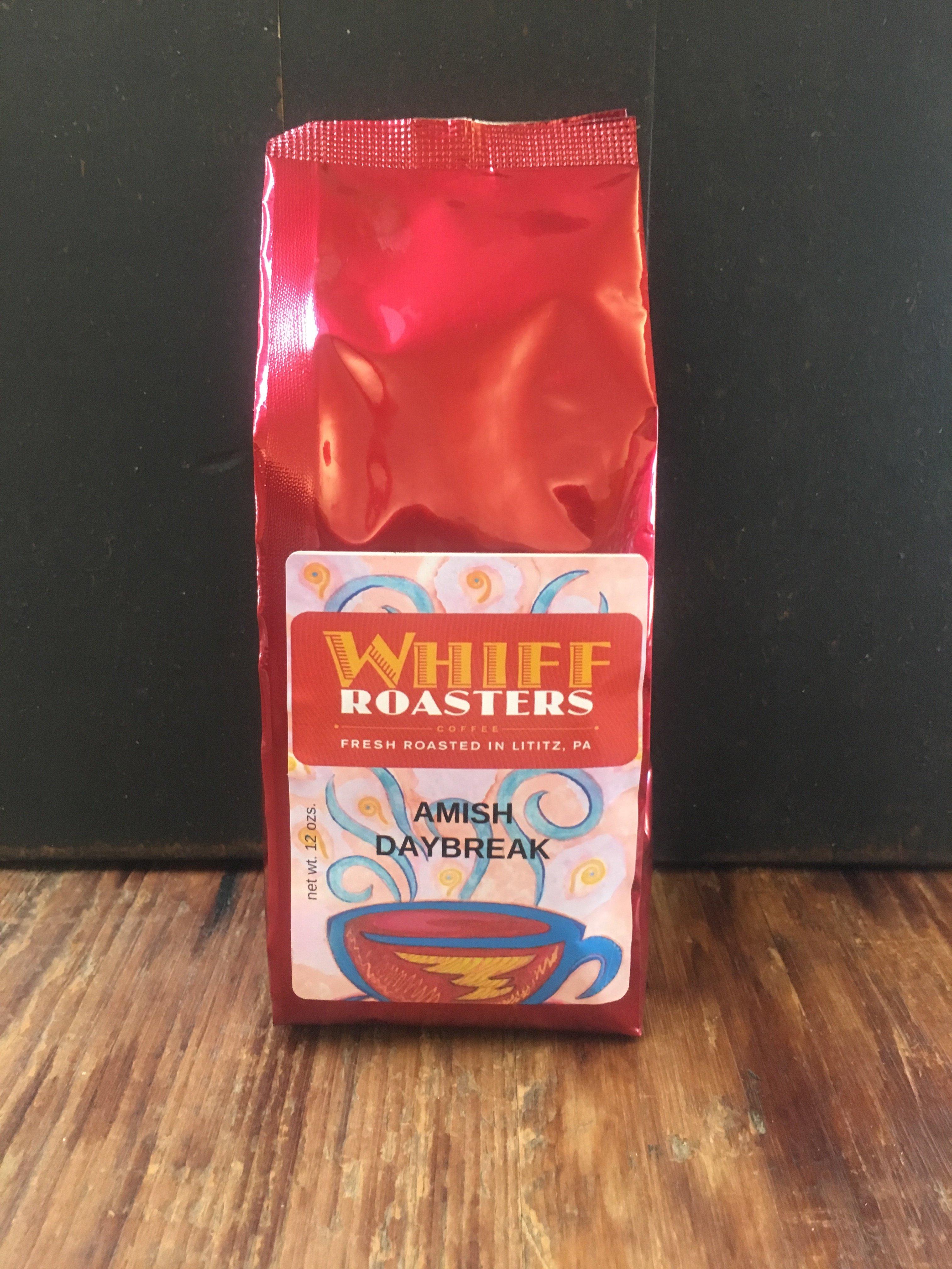12oz Ground Coffee Bag Amish Daybreak 00086