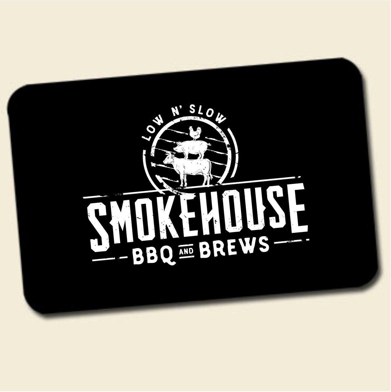 Smokehouse BBQ and Brews Gift Card 00003