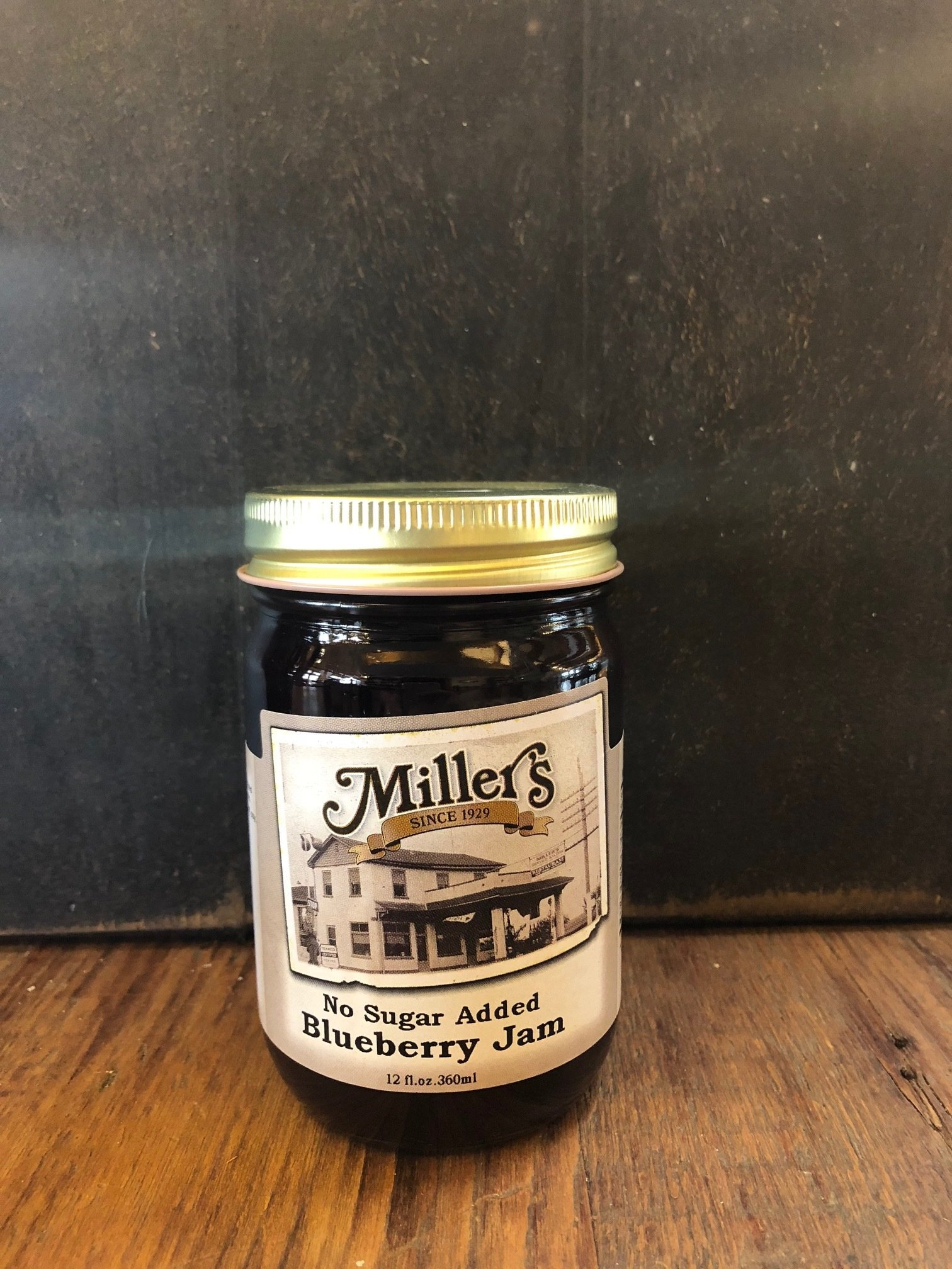 Sugar Free Blueberry Jam 12oz 00097