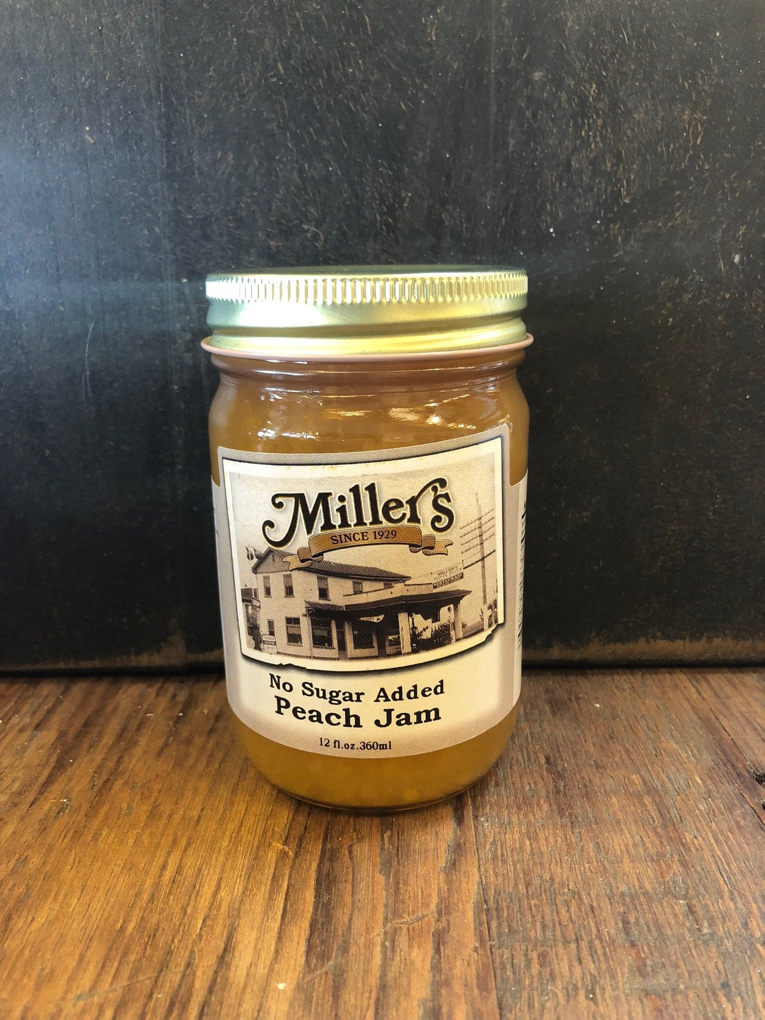 Sugar Free Peach Jam 12oz 00099