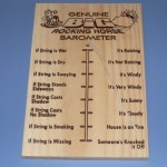The Genuine Big Rocking Horse Barometer