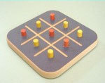 Noughts & Crosses Game / Hand made in Australia