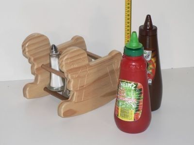 Wooden BBQ Caddy Hand made in Australia