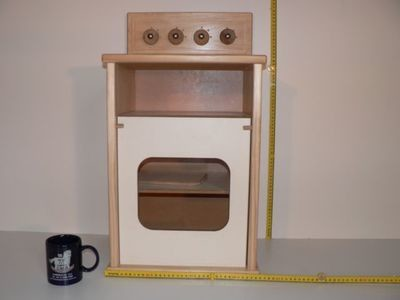 Stove hand made from wood in Australia