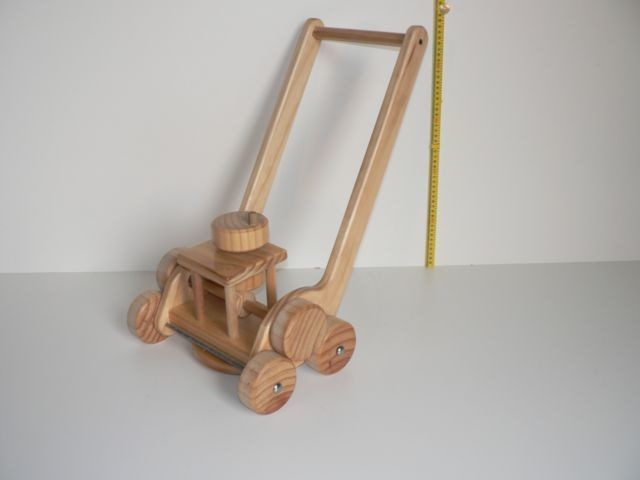 Lawnmower / Hand made from wood in Australia