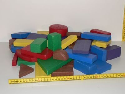 Offcut Building Blocks / Hand made in Australia
