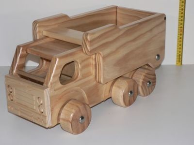 Dump Truck / Hand made from wood in Australia