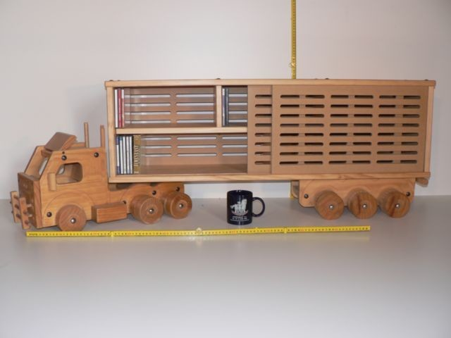 Pantec Stock Truck / Hand made from wood in Australia