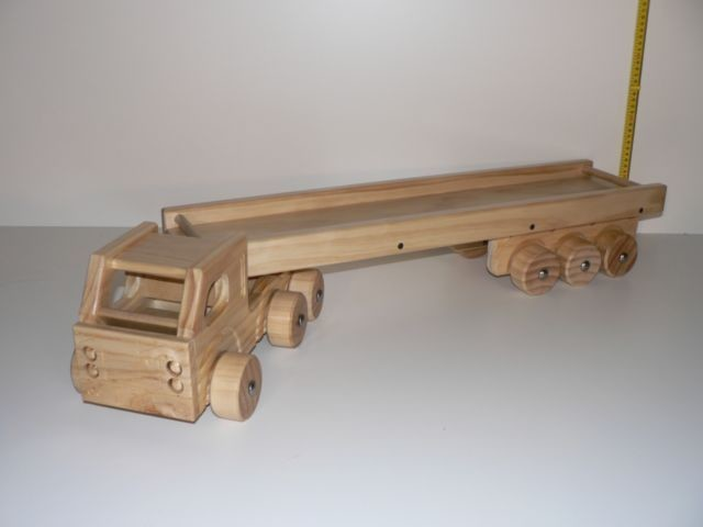Semi Trailer Kit, hand crafted from wood in Australia
