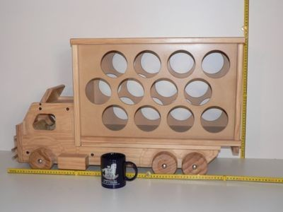 Stock Wine Truck Kit hand made from wood in Australia
