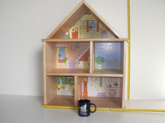 Three Storey Doll House hand crafted from wood in Australia