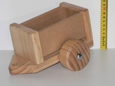 Tractor Trailer Kit hand made in Australia from wood.