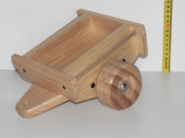 Trailer for Large 4WD, hand made from wood in Australia