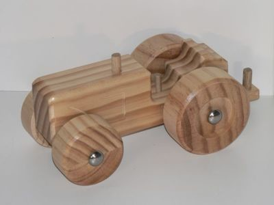 Tractor Kit hand made from wood in Australia