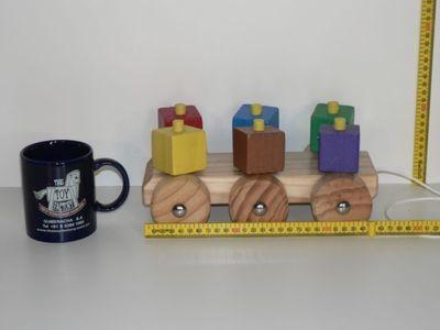 Spinning Block Pullalong Kit hand made in Australia