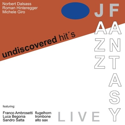 JAZZ FANTASY «Undiscovered Hit's» (files .wav + covers .jpeg + booklet .pdf)