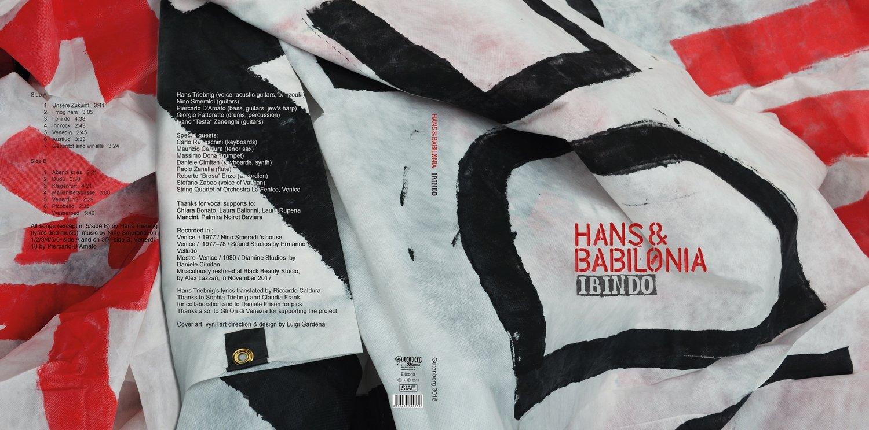 HANS & BABILONIA   «I bin do» - VINILE - SPEDIZIONE GRATUITA IN ITALIA - FREE SHIPPING IN ITALY - FREE DOWNLOAD PER CHI ACQUISTA IL VINILE