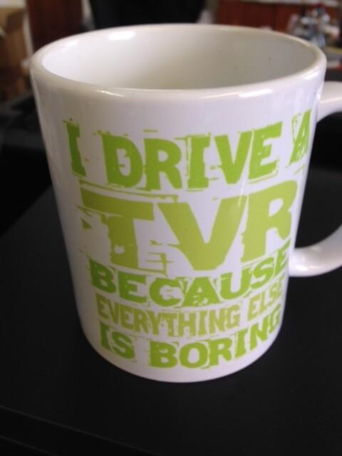 Slogan Mug - double sided design