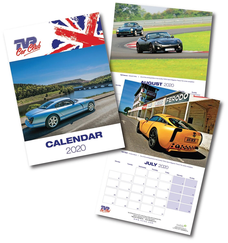 2020 TVRCC 'Picture This' calendar