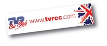 TVRCC windscreen sticker