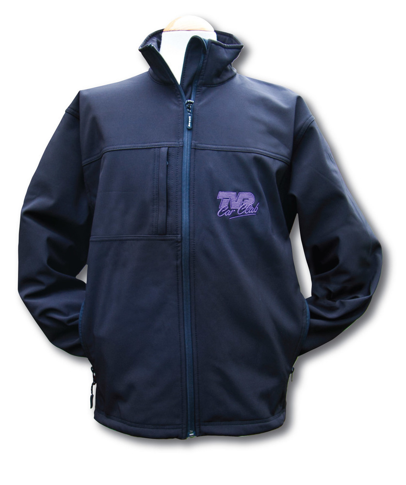 Classic Softshell Jacket - with TVRCC logo