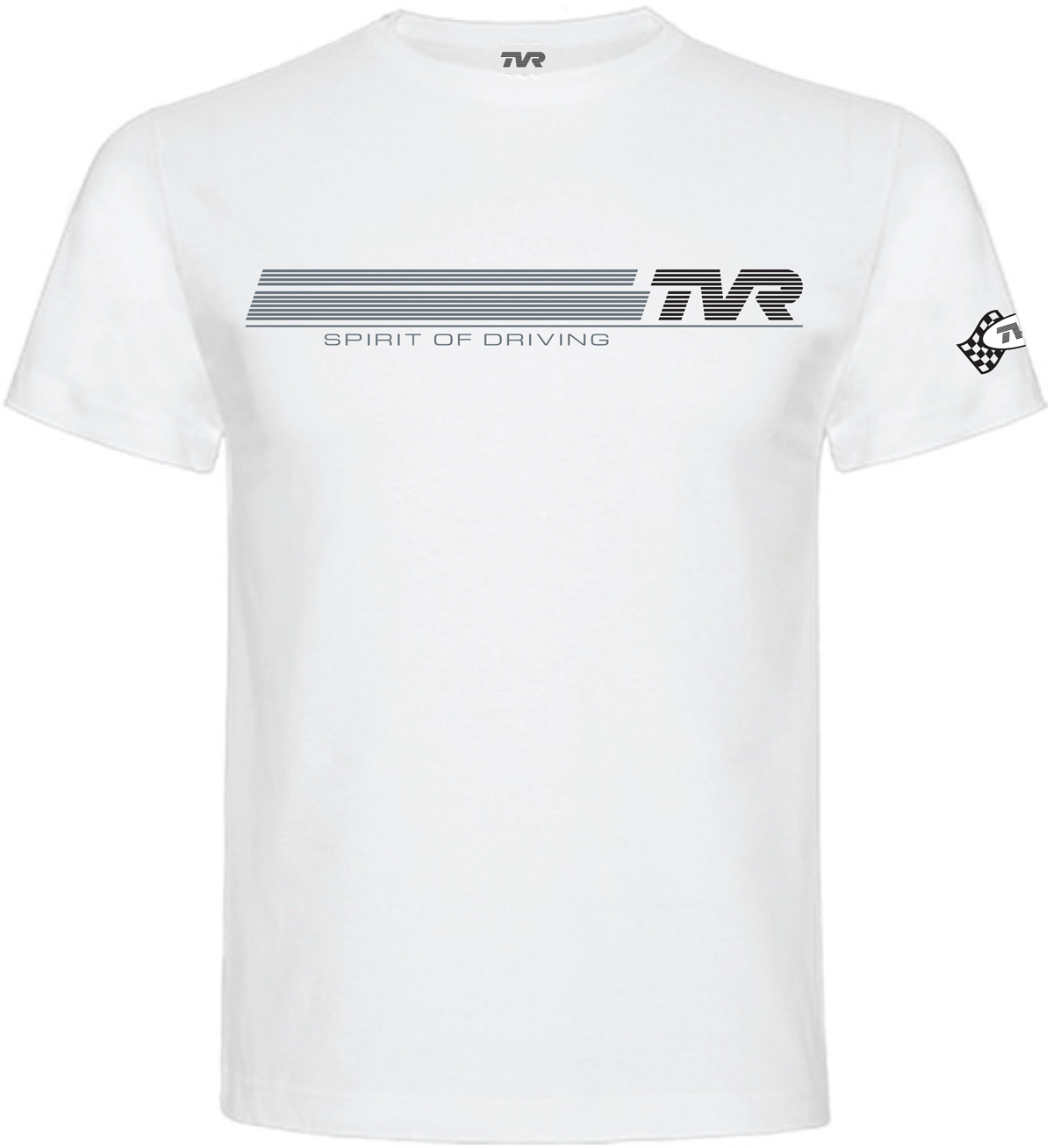 "TVR Logo ""Spirit of Driving"" T-Shirt WHITE"