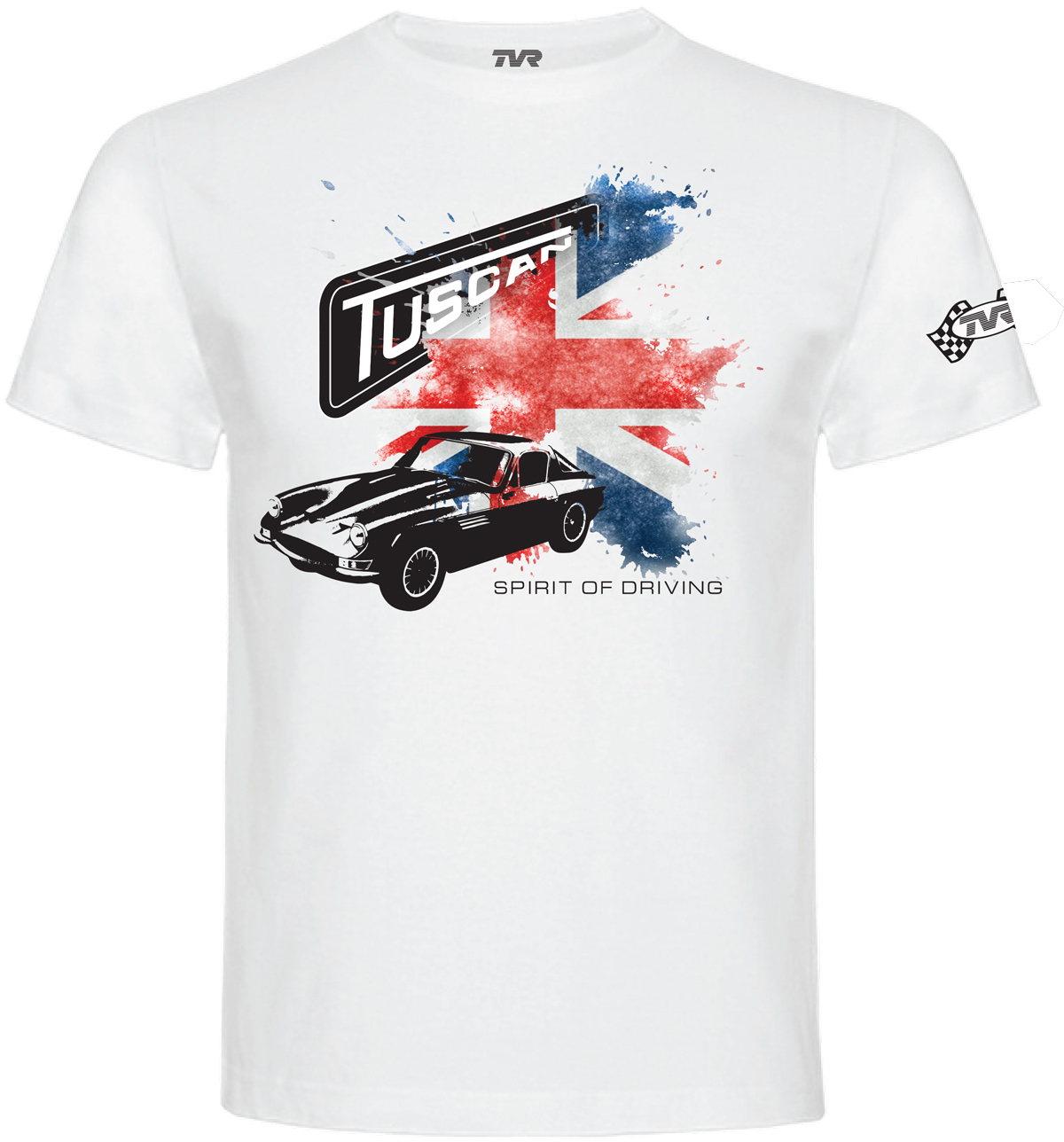 "TVR ""Original Tuscan"" T-Shirt WHITE"