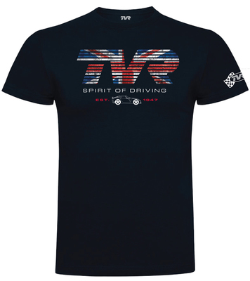 "TVR ""Spirit of Driving"" T-Shirt NAVY"