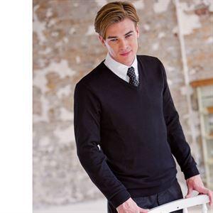 V-Neck Jumper fine knit
