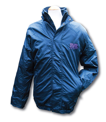 Fleece Lined Blouson Jacket with purple TVRCC logo