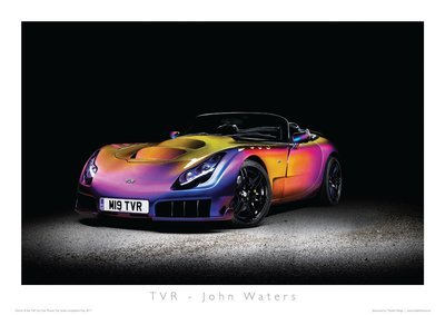 'Your TVR' Poster Print