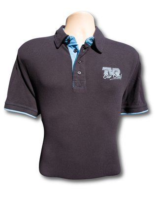 Front Row Contrast Polo