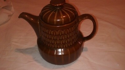 LOVELY BROWN WEDGEWOOD VINTAGE/RETRO COFFEE POT