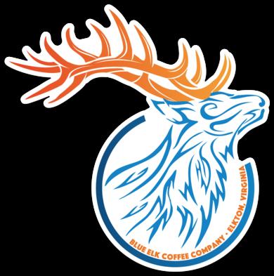 Elk Head Sticker, Regular