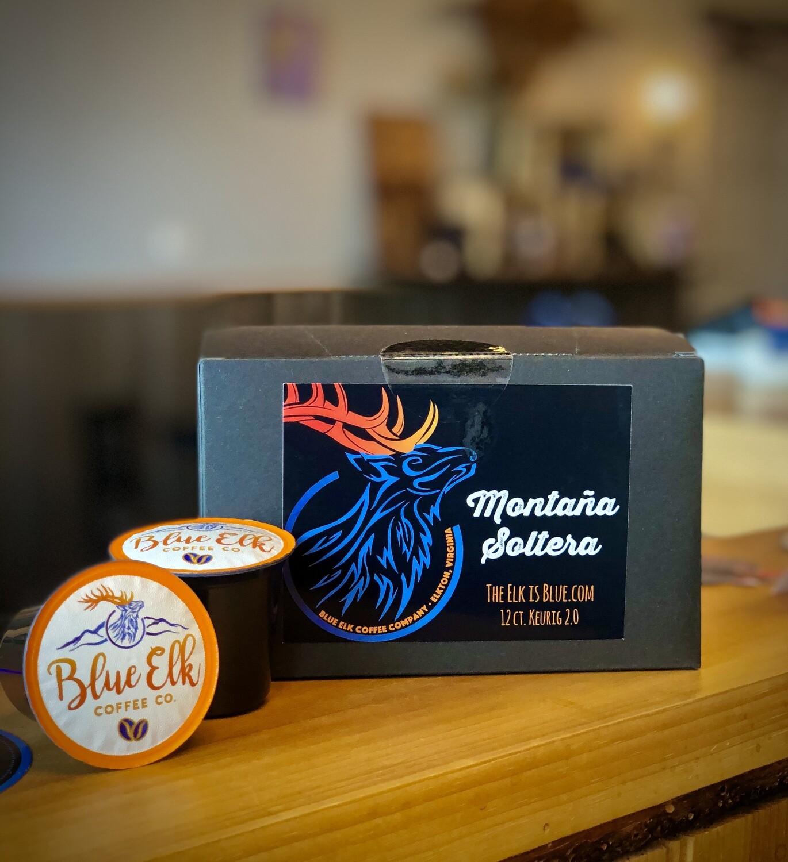 Blue Elk Montaña Soltera, Single Serve Coffee