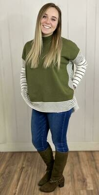 Meadow Striped Sweater