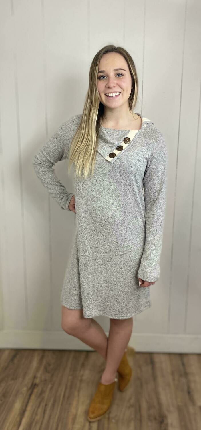 Julia Button Dress