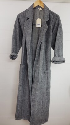 Herringbone Trench Coat