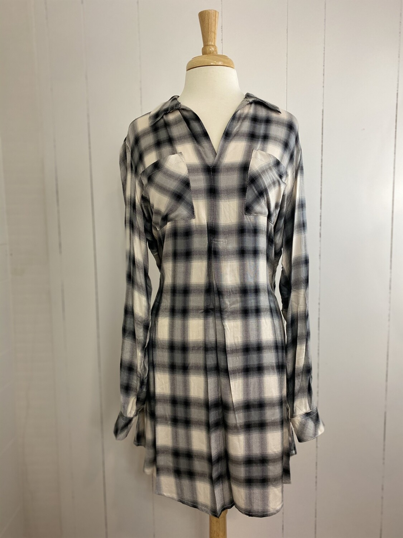 Betty Plaid Dress